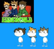 Hair - Matt, Tom and Edd from Eddsworld
