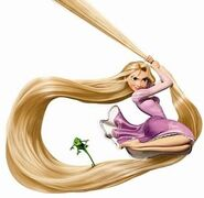 Can't Be Included - Hair - Longest Rupunzel Hair