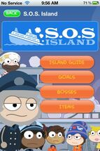 S.O.S Island App Walktrough