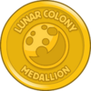Lunar Colony Medallion