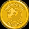 Lunar Colony Medallion