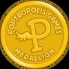 Poptropolis Games Medallion