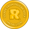 Escape from Pelican Rock Medallion