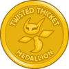 Twisted Thicket Medallion