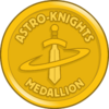 Astro-Knights Medallion