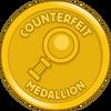 Counterfeit Medallion