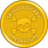 Skullduggery Medallion