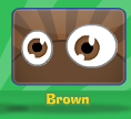 What color are your eyes brown