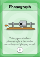 Phonograph 1