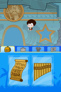 Poptropica Adventures Poseidon temple interior