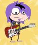 Rock Star 2 purple