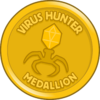 Virus Hunter Medallion