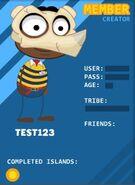 Test123 profile