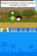 Poptropica Adventures green knight