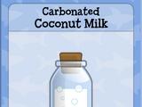 Carbonated Coconut Milk