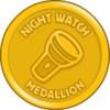 Night Watch Medallion