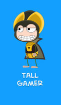 Poptropica - Tall Gamer