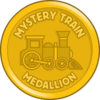 Mystery Train Medallion