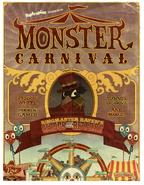 Monster Carnival Island poster