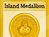Island Medallion (Early Poptropica Island)