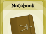 Notebook (Time Tangled Island)