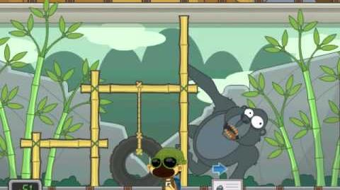 Poptropica Zookeeper Ad