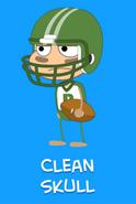 -7 Clean Skull