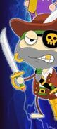Captain Crawfish on the Super Villain Island Website Wallpaper