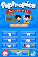 Poptropica Adventures character creation