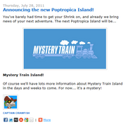 Announcing the New Poptropica Island