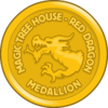Red Dragon Medallion