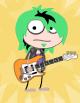 Rock Star 2 green