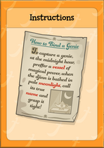 Item Card - Instructions