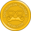 PoptropiCon Episode 1 Medallion