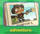 What kind of story do you read adventure