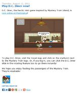 Play D.C. Diner Now