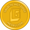 Galactic Hot Dogs Medallion