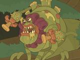 Plant Monster Brains
