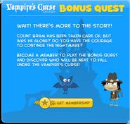 Vampire's Curse Island Bonus Quest Non-Member