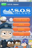 S.O.S. Island App Walkthrough