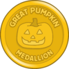 Great Pumpkin Medallion