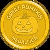Great Pumpkin Medallion