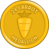 24 Carrot Medallion