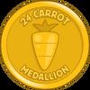 24 Carrot Medallion