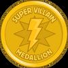 Super Villain Medallion