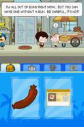 Poptropica Adventures hot dog