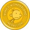 Wimpy Wonderland Medallion