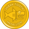 Shark Tooth Medallion