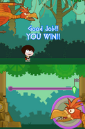 Poptropica Adventures Astro-Knights race win