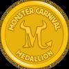 Monster Carnival Medallion